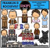 Franklin D Roosevelt Clip Art Bundle {Educlips Clipart}