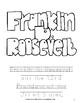 Franklin D. Roosevelt Coloring Book