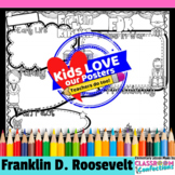 Franklin D. Roosevelt / FDR: research graphic organizer