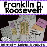 Franklin D. Roosevelt : Interactive Notebook Activities