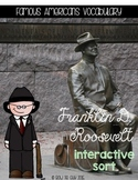 Franklin D. Roosevelt {Interactive Vocabulary Sort}
