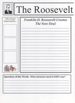 Franklin D. Roosevelt Newspaper