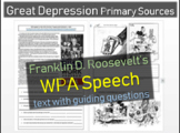 Franklin D. Roosevelt - Primary Source Documents, linked to Fireside Chat Audio