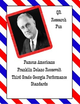 Franklin D. Roosevelt QR Activity