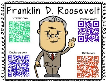 Franklin D. Roosevelt-Historical Figure Research Booklet