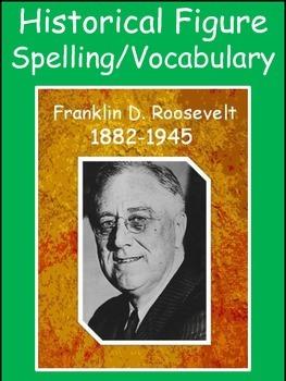 Franklin D. Roosevelt Spelling/Vocab GPS Social Studies Hi