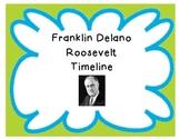 Franklin D. Roosevelt Timeline