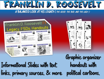 Franklin D. Roosevelt - primary sources and legacy DBQ handout & PPT