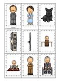 Franklin D Roosevelt themed Memory Matching Cards.  Presch