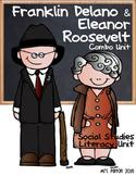 Famous Americans: Franklin Delano Roosevelt & Eleanor Roosevelt Literacy Unit