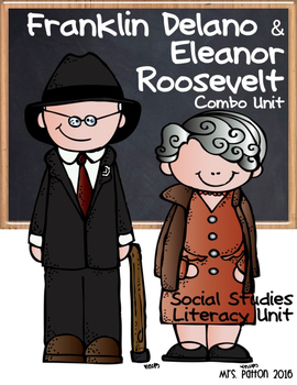 Famous Americans: Franklin Delano Roosevelt & Eleanor Roos