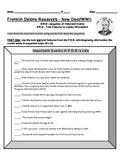 Franklin Delano Roosevelt FDR Sequencing & Text Features 3.RI.3 3.RI.5