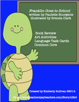 Franklin the Turtle  24 Task Cards