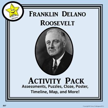 Franklin Roosevelt Activity Pack