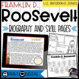 Franklin Roosevelt: Biography, Timeline, Graphic Organizers, Text-based Question