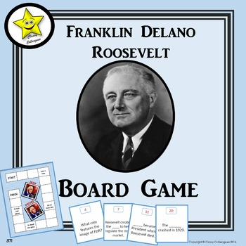 Franklin Roosevelt Board Game