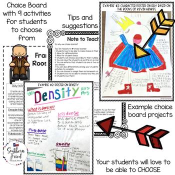 Franklin Roosevelt Choice Board