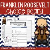 US Presidents - Franklin Roosevelt Choice Board