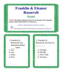 Franklin Roosevelt & Eleanor Roosevelt Scoot
