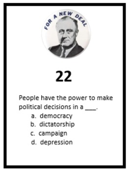 Franklin Roosevelt Scoot Game