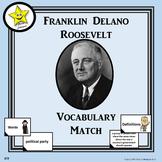 Franklin Roosevelt Vocabulary Match