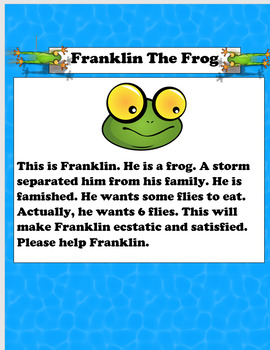 Franklin The Frog (Number Sense)