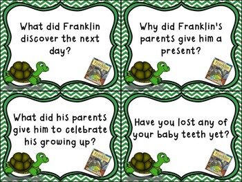 Franklin and the Tooth Fairy - Daily 5 Unit
