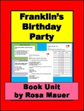 Franklin's Birthday Party Book Unit