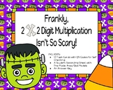 Frankly, 2x2 Multiplication Isn't So Scary!  Area/Box Model Task Cards
