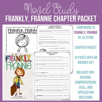Frankly, Frannie Chapter Packet