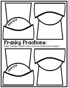 Franky Fractions: A Halloween Math Craftivity