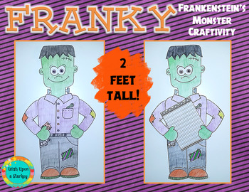 Franky - Halloween Craftivity