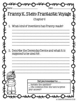 Franny K. Stein - Frantastic Voyage