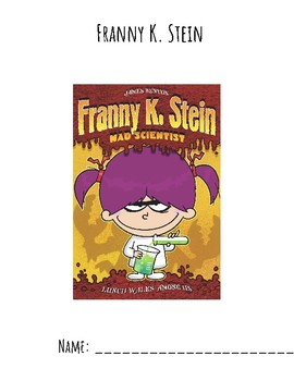 Franny K Stein Lunch Walks Among Us Guided Reading Packet Tpt