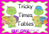 Frantic Facts - Tricky Times Tables - up to 5x