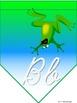 Frantic Froggy Alphabet (cursive)