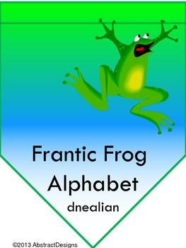 Frantic Froggy Alphabet (dnealian)
