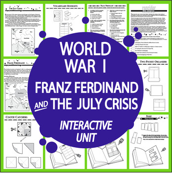 Franz Ferdinand FREE World War I Lesson!