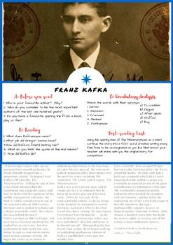 Franz Kafka - ESL Reading, Comprehension Check, Vocabulary Review