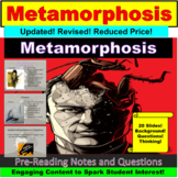 "Franz Kafka's ""The Metamorphosis"" Google Slides, PowerPoint"