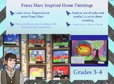 Franz Marc Expressionist Horses (Grades 3-4)