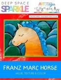 Franz Marc Horse Lesson Plan