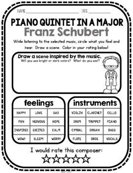 Schubert, Classical Composer, January, Winter, Handwriting, Music, Ave Maria