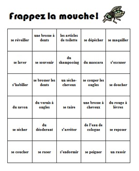 Frappez la mouche - Set of Fly Swatter Games for French