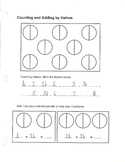 Fractions: Mixed Numeral Addition with Pictures