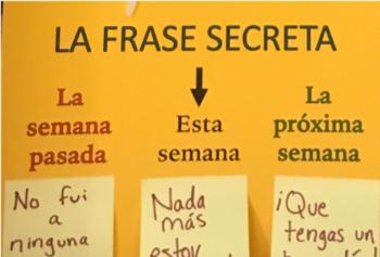Frase Secreta: Spanish Passwords