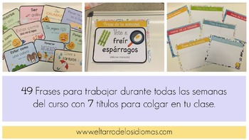 Frase de la semana / Sentence of the week SPANISH