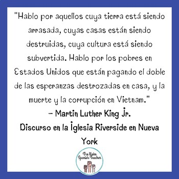 Frases Bilingües de Martin Luther King Jr - 4