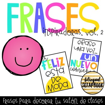 Frases Inspiradoras Vol. 2 (Inspirational Quotes in Spanish)
