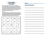 Frases Magicas Realidades 3B cooperative learning magic sentences grammar vocab